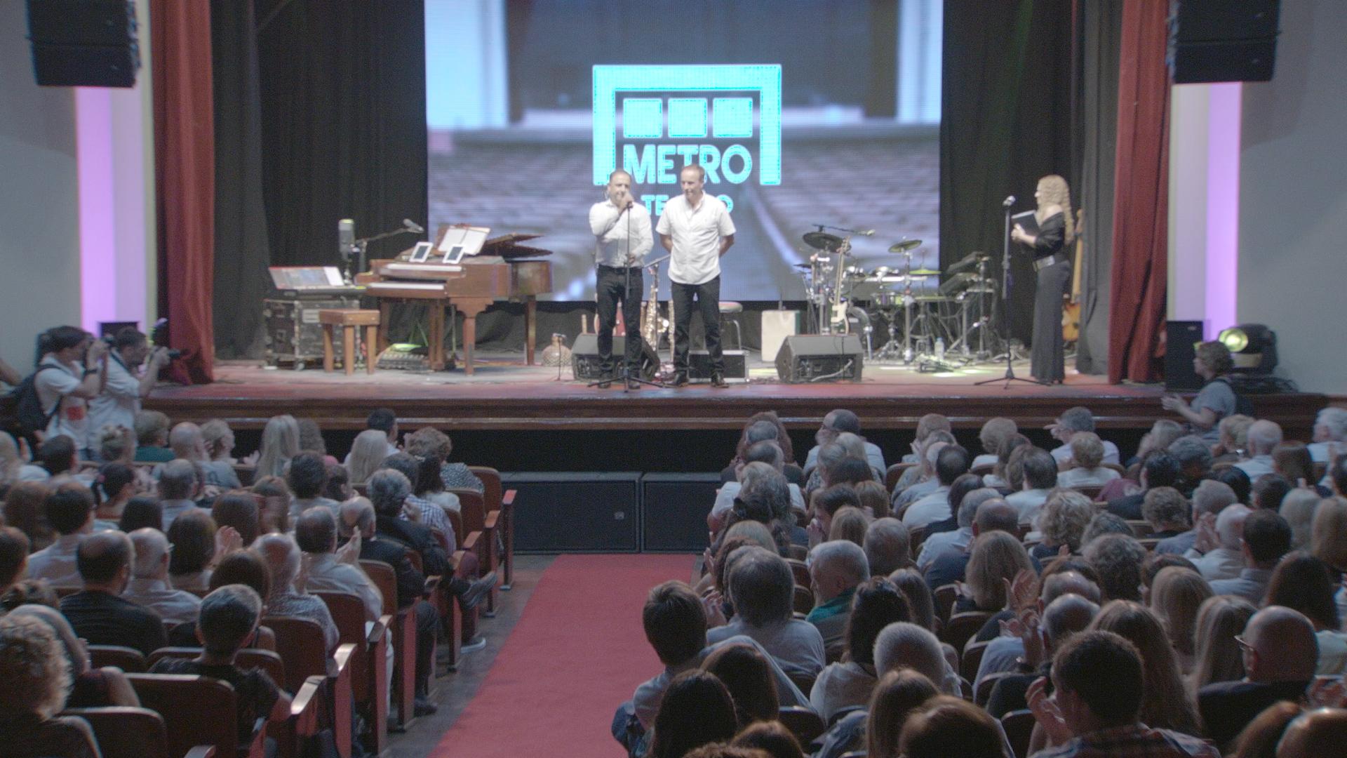 Carlos Mancinelli, Gerardo Tempesta, salón, Metro