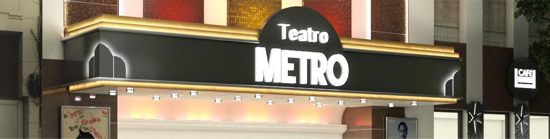 Fachada Teatro Metro
